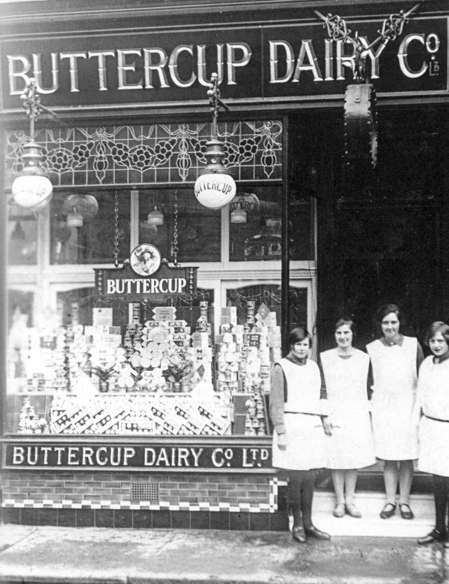 Buttercup Dairy 48 Warrender Park Road 1920s