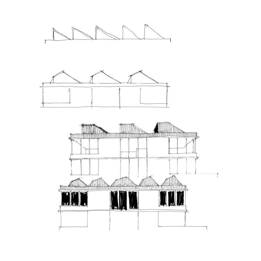 Roof forms sketch